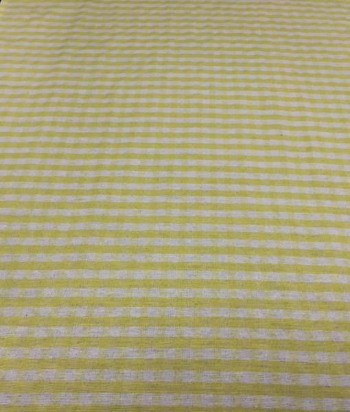 Yellow Small Check Runner