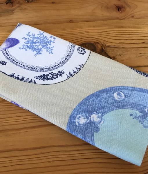 Blue Plate Serviette