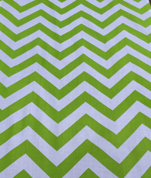 Lime Green Chevron Runner