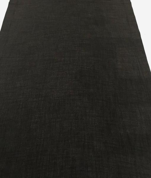 charcoal linen runner