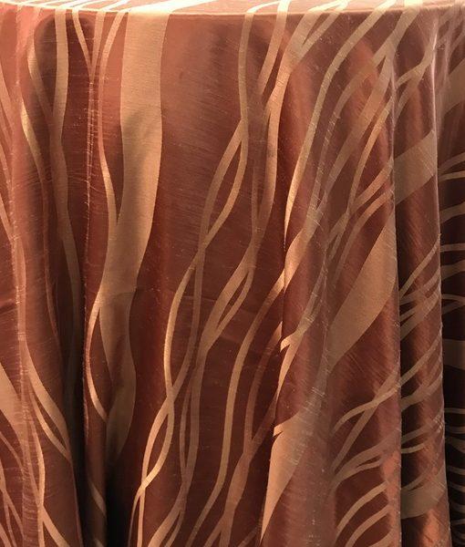 ginger wavy taffeta cloth_resize