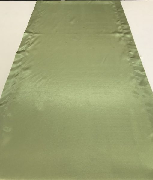 lime green satin runner_resize