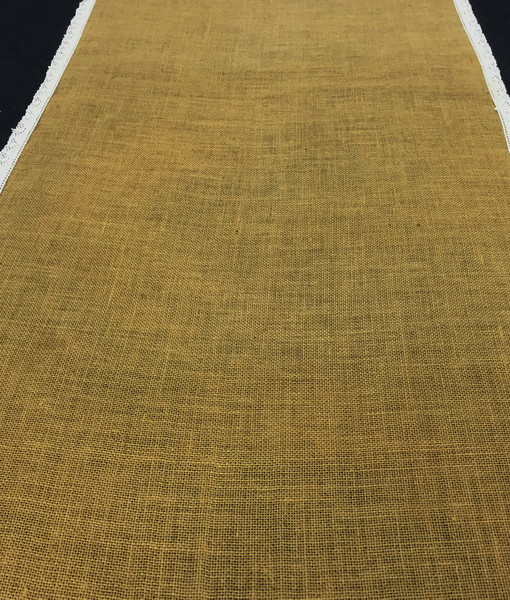 Hessian and Lace runner_resize