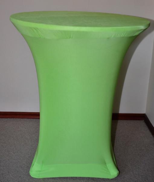 Lime green ottoman 90cm