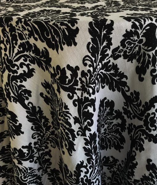 black & white woven damask_resize