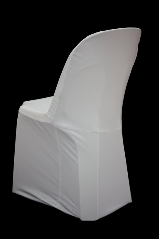 Stupendous White Stretch Ancona Chair Cover Pabps2019 Chair Design Images Pabps2019Com
