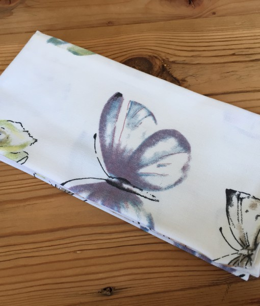 Butterfly Botanical Serviette