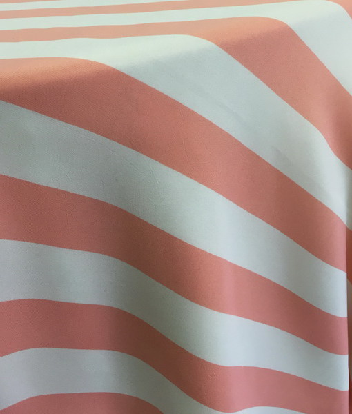 Coral Stripe tablecloth_resize