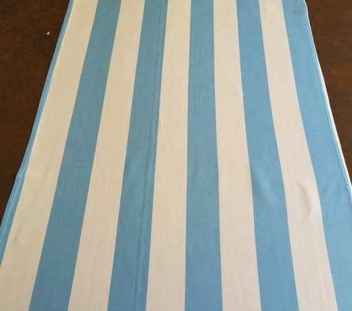 Light blue and White Stripe Runner_resize