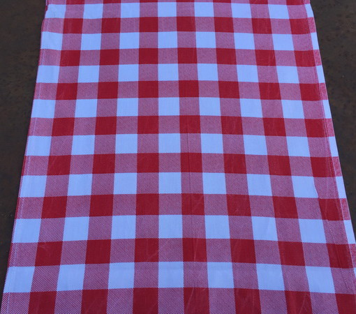 Red and White Check Runner_resize