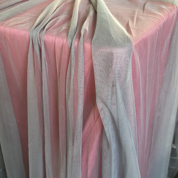 White Tulle Oversize Overlay - The Tablecloth Hiring Company