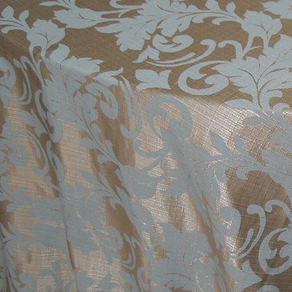 Duck Egg Light Gold Damask Tablecloth The Tablecloth