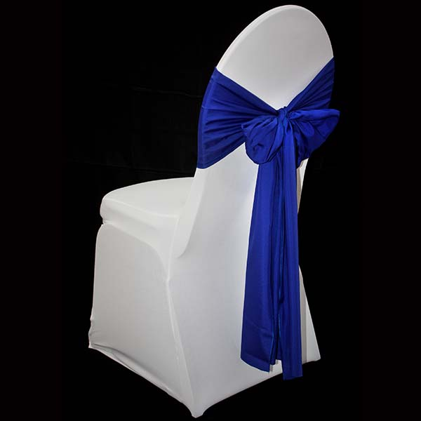 Royal Blue Chair Sash