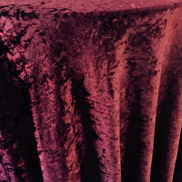 maroon velvet tablecloth the tablecloth hiring company