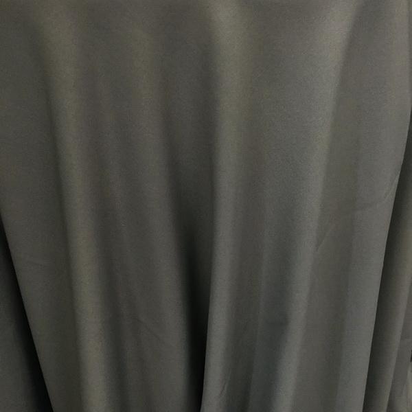 Grey Cotton Tablecloth